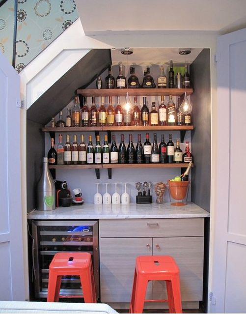 Diseña tu hogar a tu medida minibar planlife edificaciones ...